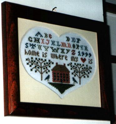 where the heart is - sampler