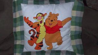pooh e tigro a punto croce
