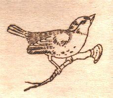 uccellino pirografo