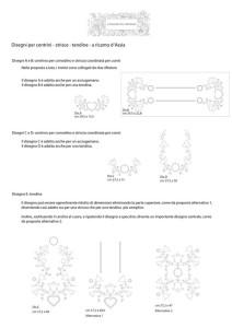 Raccolta disegni per centrini e tendine