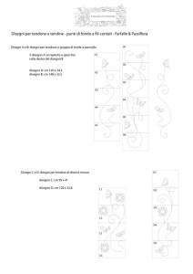 Raccolta disegni farfalle e passiflora