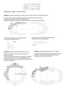 Raccolta di disegni per tovaglie