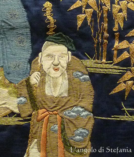 fukusa - detail - V&A Museum