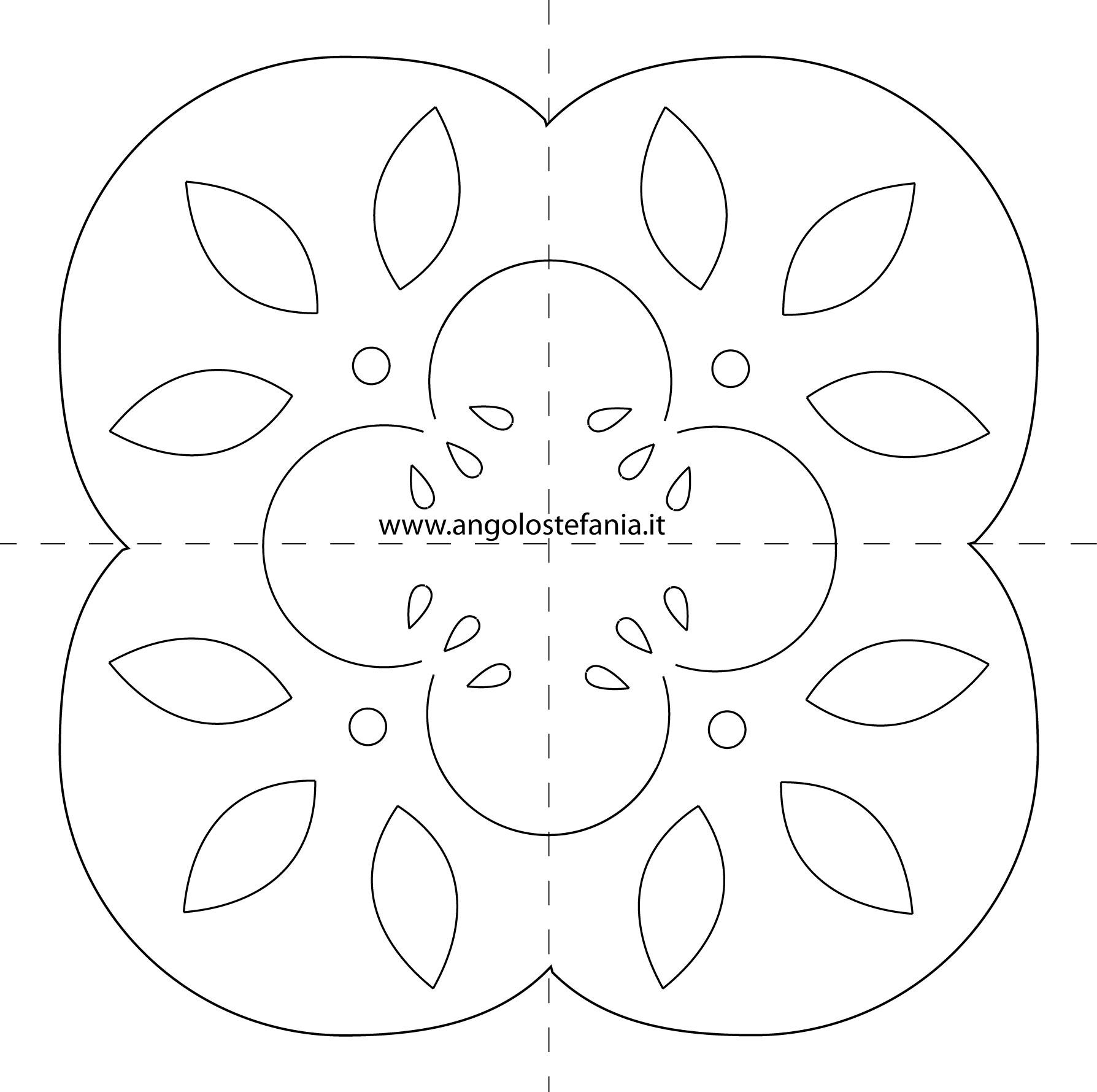 Piccolo Centrino Hedebo – L'angolo Di Stefania #4B4B4B 1788 1779 Disegni Per Cucina A Punto Croce