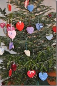 L'albero decorato