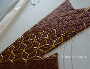 Work in progress - flax effect - l'oro