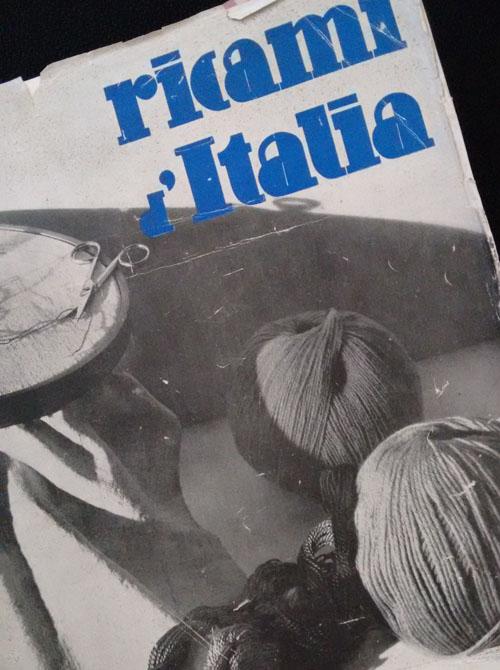 Ricami d'Italia - copertina