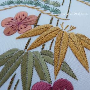 Dettaglio: foglie di bambù