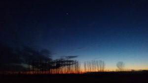 Settimana 3: tramonto